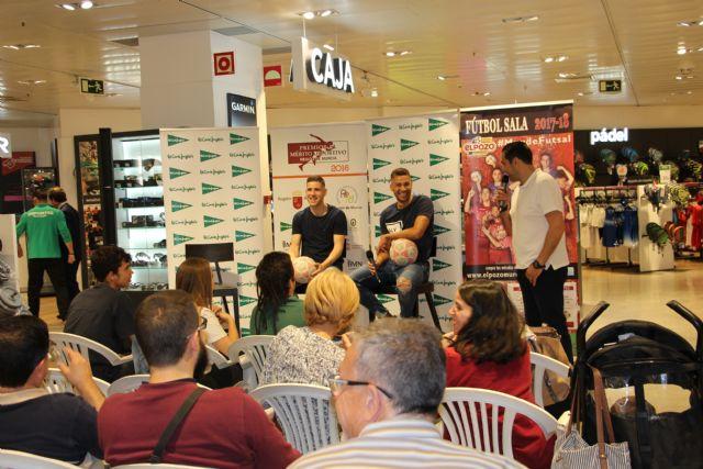 II charlas el deporte en la Región de Murcia con Pito y Fernando de ElPozo Murcia FS - 3, Foto 3