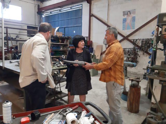 Democracia Plural visita diversos comercios de la zona sur de Murcia - 2, Foto 2