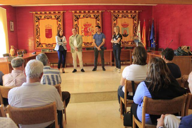 Visita del Colegio de Ingenieros Técnicos de Obras Públicas e Ingenieros Civiles de la Región de Murcia a Bullas - 2, Foto 2