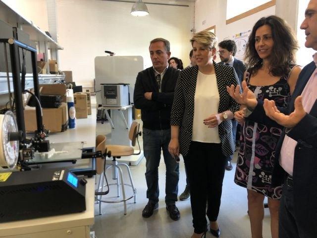 Cristina Sánchez: Vamos a impulsar un Plan de Ciencia y Tecnología para situar a la Región a la cabeza en investigación e innovación - 1, Foto 1