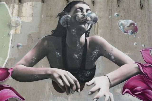 En marcha los murales monumentales del ´One Urban World´, una de las señas de identidad de Mucho Más Mayo - 1, Foto 1