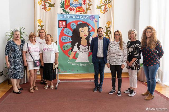 Cartagena conmemora la rebelión de las mujeres gitanas de Auschwitz en el Día de la Resistencia Romaní - 1, Foto 1