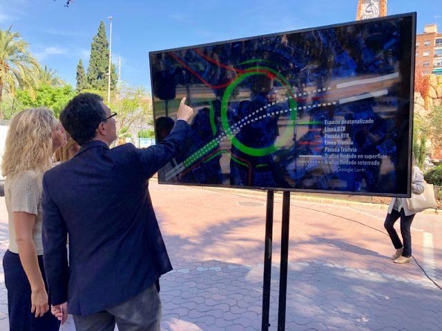 La Circular acogerá un parking subterráneo con 1.660 plazas y tendrá nuevas zonas verdes y espacios peatonales, Foto 1