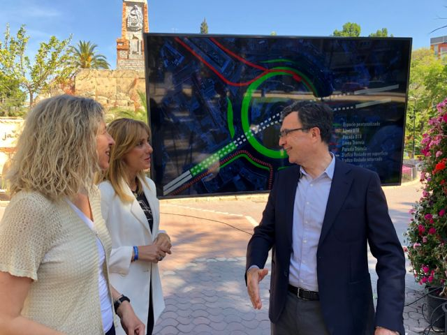 La Circular acogerá un parking subterráneo con 1.660 plazas y tendrá nuevas zonas verdes y espacios peatonales, Foto 2