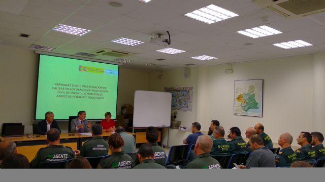 Una treintena de guardias civiles y agentes medioambientales participan en un curso sobre técnicas de investigación de causas de incendios forestales, Foto 2