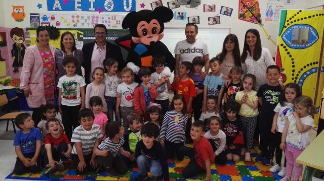 D´Genes sensibiliza sobre las enfermedades raras a los alumnos del colegio San Cristóbal de Aledo