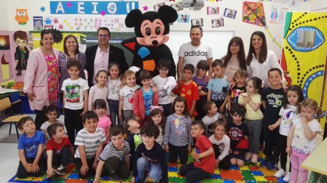 D´Genes sensibiliza sobre las enfermedades raras a los alumnos del colegio San Cristóbal de Aledo - 2, Foto 2
