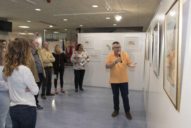 La Universidad de Murcia acoge una exposición del artista Juan Heredia - 1, Foto 1
