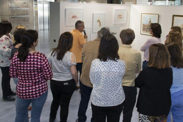 La Universidad de Murcia acoge una exposición del artista Juan Heredia - 2, Foto 2