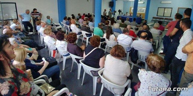 Reunión Plataforma Línea de Alta Tensión ADIF Ñorica-Lébor, Foto 1