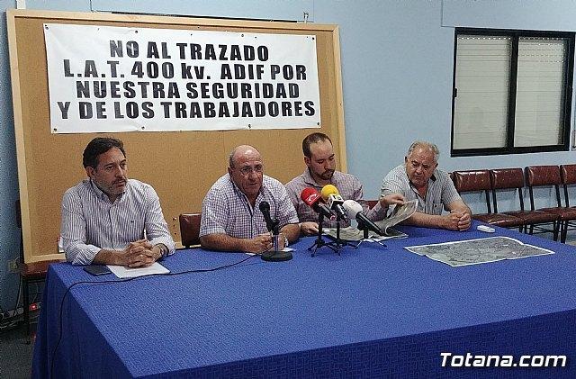 Reunión Plataforma Línea de Alta Tensión ADIF Ñorica-Lébor, Foto 2