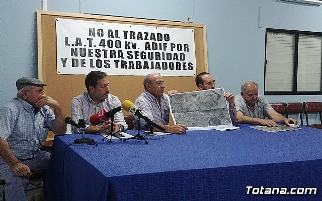 Reunión Plataforma Línea de Alta Tensión ADIF Ñorica-Lébor, Foto 3