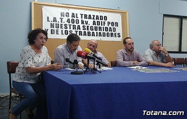 Reunión Plataforma Línea de Alta Tensión ADIF Ñorica-Lébor, Foto 4