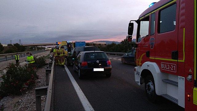 Accidente de tráfico múltiple en la A-30 en Molina de Segura - 1, Foto 1