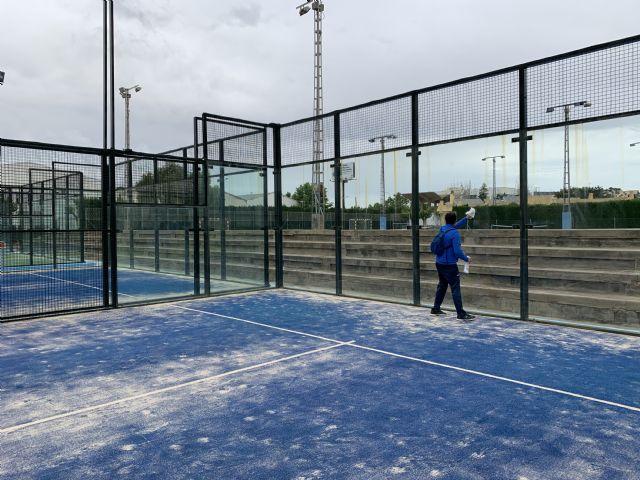 El polideportivo municipal abre al público sus instalaciones deportivas al aire libre - 3, Foto 3