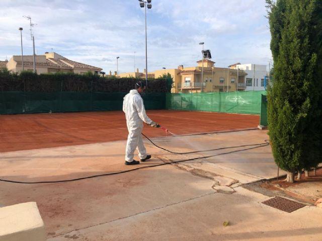 El polideportivo municipal abre al público sus instalaciones deportivas al aire libre - 5, Foto 5