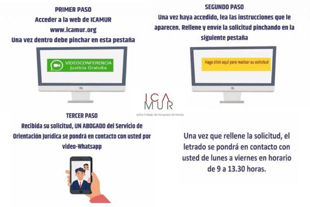 El Colegio de Abogados pone al servicio de los ciudadanos un canal de videollamadas por WhatsApp para solicitar el acceso a la justicia gratuita - 1, Foto 1