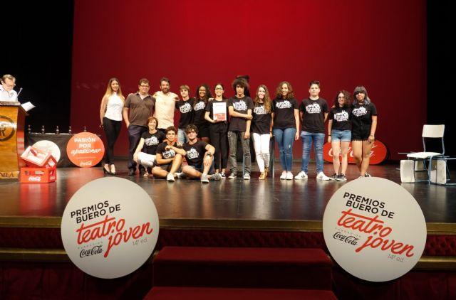 El colegio Severo Ochoa y la escuela de teatro de Alhama ganan los premios Buero de teatro joven, de la fundación Coca-Cola en Murcia, Foto 3