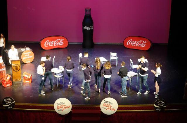 El colegio Severo Ochoa y la escuela de teatro de Alhama ganan los premios Buero de teatro joven, de la fundación Coca-Cola en Murcia, Foto 4