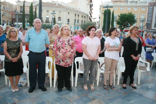 Julia Martínez is crowned as the new queen of the Elderly Parties of the Municipal Center of the Plaza Balsa Vieja, Foto 7