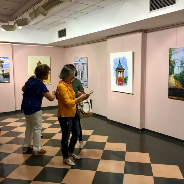 """Seventeen artists star in the painting exhibition """"Totana, the color of a Centennial"""", organized by the Association of Painters """"Con-Traste"""", Foto 3"""
