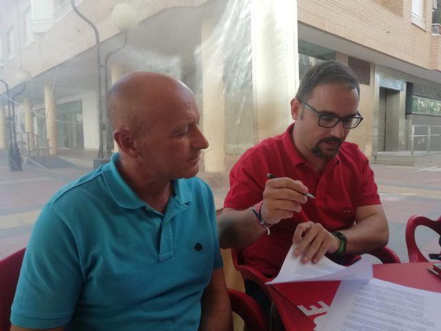 IU-Verdes facilita el cambio en Lorca a cambio del cumplimiento de un programa que no implica reparto de concejalías - 1, Foto 1