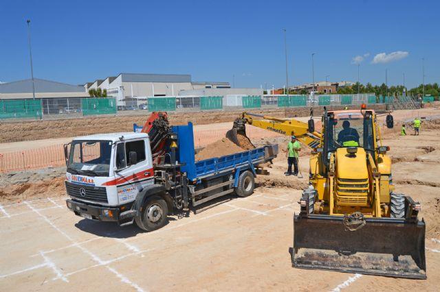 Arrancan las obras para mejorar el polideportivo municipal, que cuentan con una inversión de casi un millón de euros - 5, Foto 5