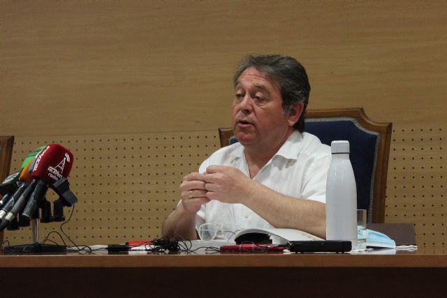 El concejal de Cultura presenta el proyecto de protección y rehabilitación de las pinturas rupestres de los abrigos del Mediodía, en el Monte Arabí - 1, Foto 1