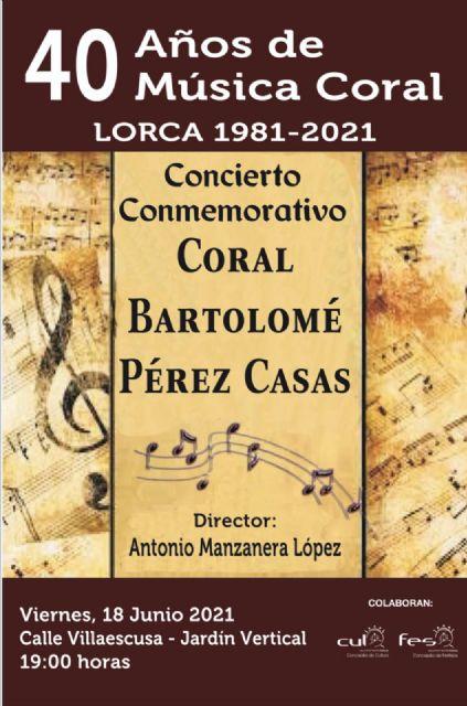 La Coral Bartolomé Pérez Casas ofrecerá este próximo viernes un concierto conmemorativo por los 40 años desde su creación - 2, Foto 2