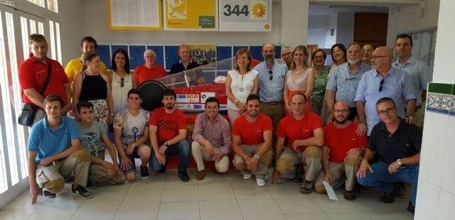 El instituto Francisco de Goya, segundo clasificado español en la ´Shell-Marathon Europe´ con un vehículo ecológico diseñado por alumnos - 1, Foto 1