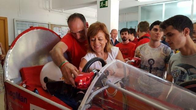 El instituto Francisco de Goya, segundo clasificado español en la ´Shell-Marathon Europe´ con un vehículo ecológico diseñado por alumnos - 2, Foto 2