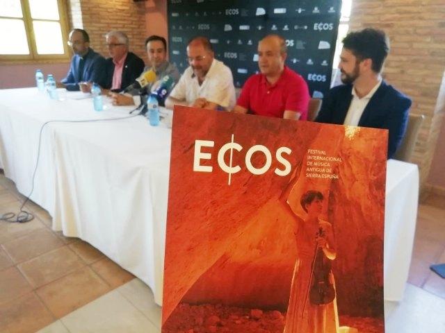 Esta semana arranca el IV Festival de Música Antigua ECOS de Sierra Espuña