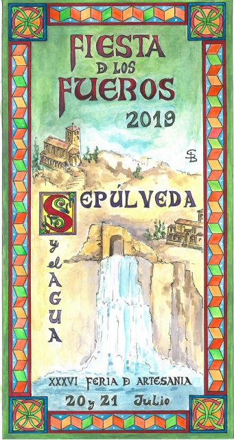 """Sepúlveda and Water"" protagonist of the Fair and Celebration of the Fueros de Sepúlveda that is celebrated this weekend"