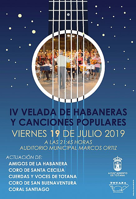 """The Fourth Evening of Habaneras and Popular Songs is celebrated this Friday, July 19, in the auditorium of the municipal park """"Marcos Ortiz"""", Foto 2"""