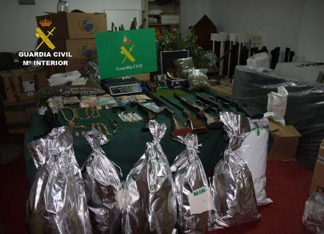 La Guardia Civil desmantela una activa y peligrosa organización criminal dedicada al tráfico de drogas y al