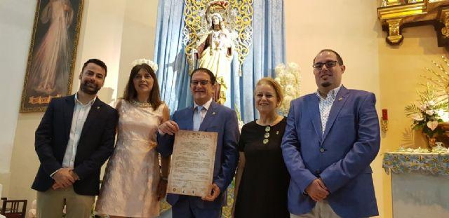 El obispo Lorca Planes nombra a la Virgen del Carmen patrona de Puerto de Mazarrón, Foto 1