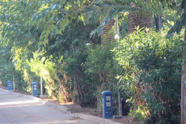 Finalizan las obras para dotar de agua, suministro eléctrico y saneamiento al Paseo Poeta Lorenzo Guardiola - 1, Foto 1
