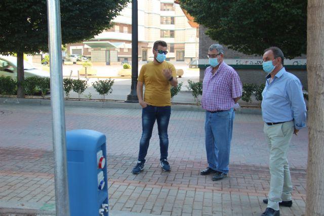 Finalizan las obras para dotar de agua, suministro eléctrico y saneamiento al Paseo Poeta Lorenzo Guardiola - 2, Foto 2