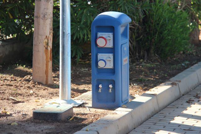 Finalizan las obras para dotar de agua, suministro eléctrico y saneamiento al Paseo Poeta Lorenzo Guardiola - 3, Foto 3