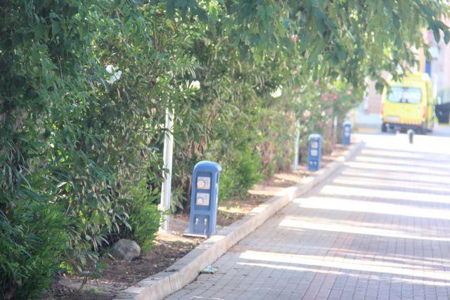 Finalizan las obras para dotar de agua, suministro eléctrico y saneamiento al Paseo Poeta Lorenzo Guardiola - 4, Foto 4