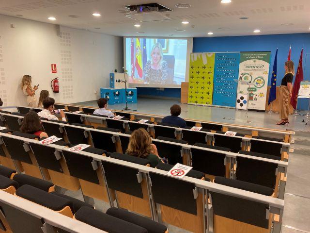 Seis alumnos del IES Sanje de Alcantarilla ganan el I Concurso de Jóvenes Inventores - 1, Foto 1