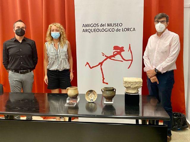 El Museo Arqueológico cuenta con cinco nuevas piezas restauradas procedentes de las excavaciones de la judería de Lorca - 1, Foto 1