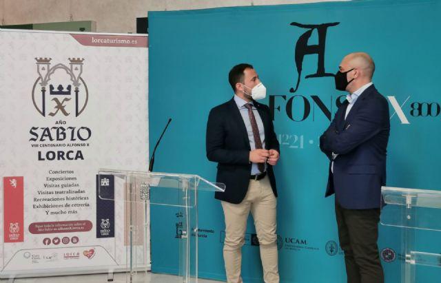Lorca y Murcia se unen con motivo del VIII centenario del Rey Alfonso X ´El Sabio´ para generar sinergias aumentando los visitantes y turistas - 2, Foto 2