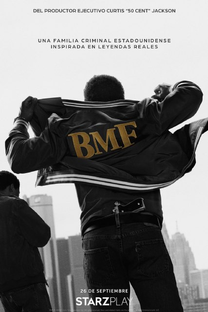 Starzplay anuncia el drama criminal de los años 80 BMF, la nueva serie del productor ejecutivo Curtis 50 Cent jackson - 2, Foto 2