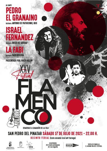 El XXV Festival Flamenco de San Pedro del Pinatar reúne a Pedro el Granaíno, Israel Fernández y La Fabi - 1, Foto 1