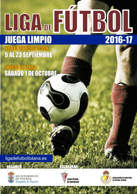"""The Sports Council opens the registration period for Football League """"Play Fair"""" 2016/17, from September 5"""