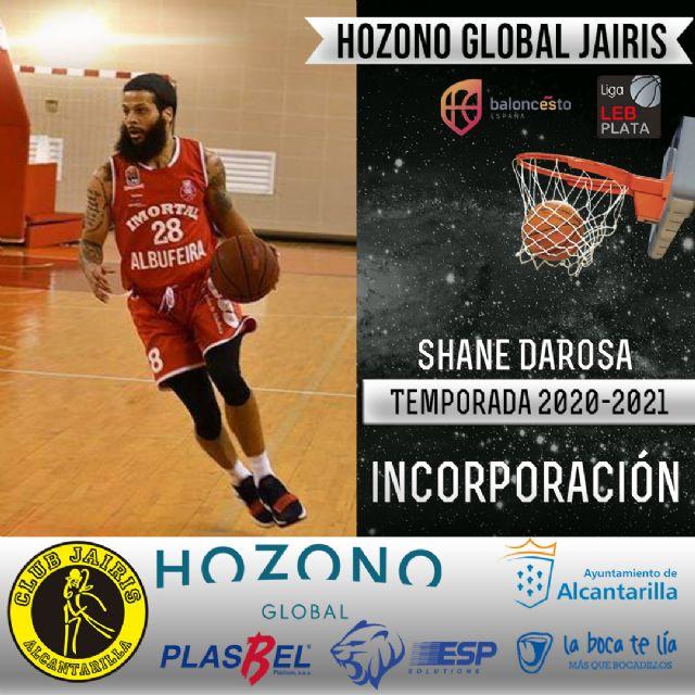 El jugador Shane DaRosa, nueva incorporación del Hozono Global Jairis - 1, Foto 1