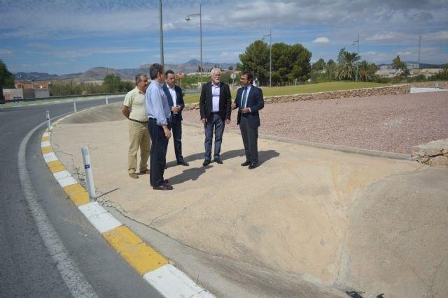 La Consejería de Fomento acondicionará dos rotondas en Abanilla para mejorar los accesos a la localidad y al polígono industrial - 1, Foto 1