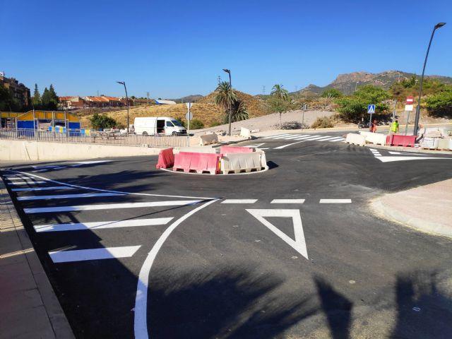 La Comunidad concluye las obras de la nueva pista polideportiva del barrio lorquino de Cristo Rey - 2, Foto 2
