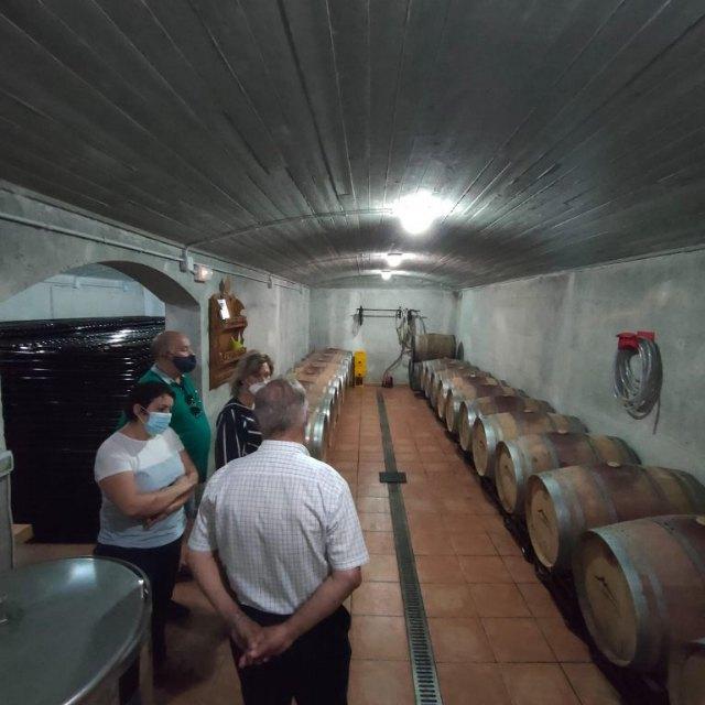 Hosteleros y establecimientos turísticos de Mula conocen la bodega de Llano y Monte en la Alquibla - 1, Foto 1